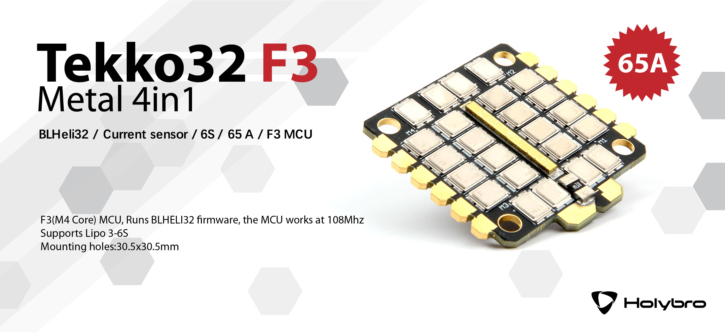 Tekko32 F3 Metal 4in1